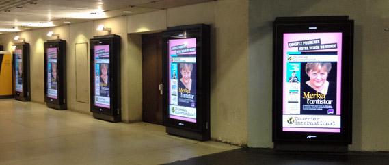 Panneaux Numériflash Gare de Lyon