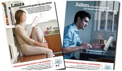 Publicité sexiste Education nationale