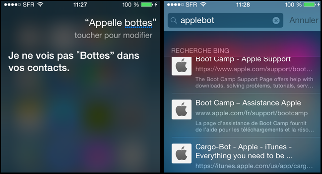 Applebot Siri Spotlight