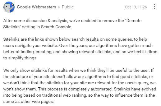 annonce-googleplus-disparition-retrogradation-sitelinks