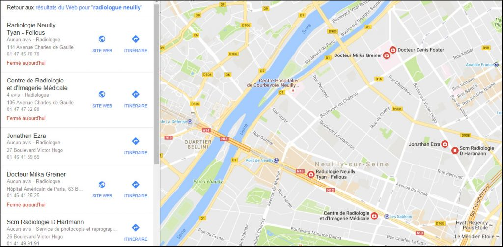 Google Maps avant Google Possum