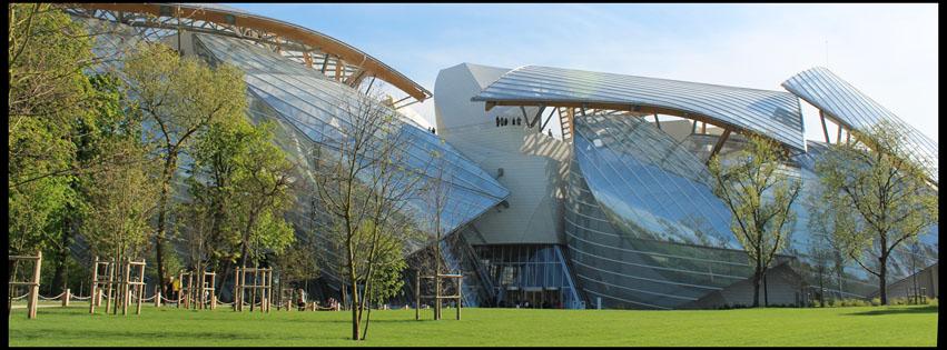 Fondation Louis Vuitton par Olivier Perbet