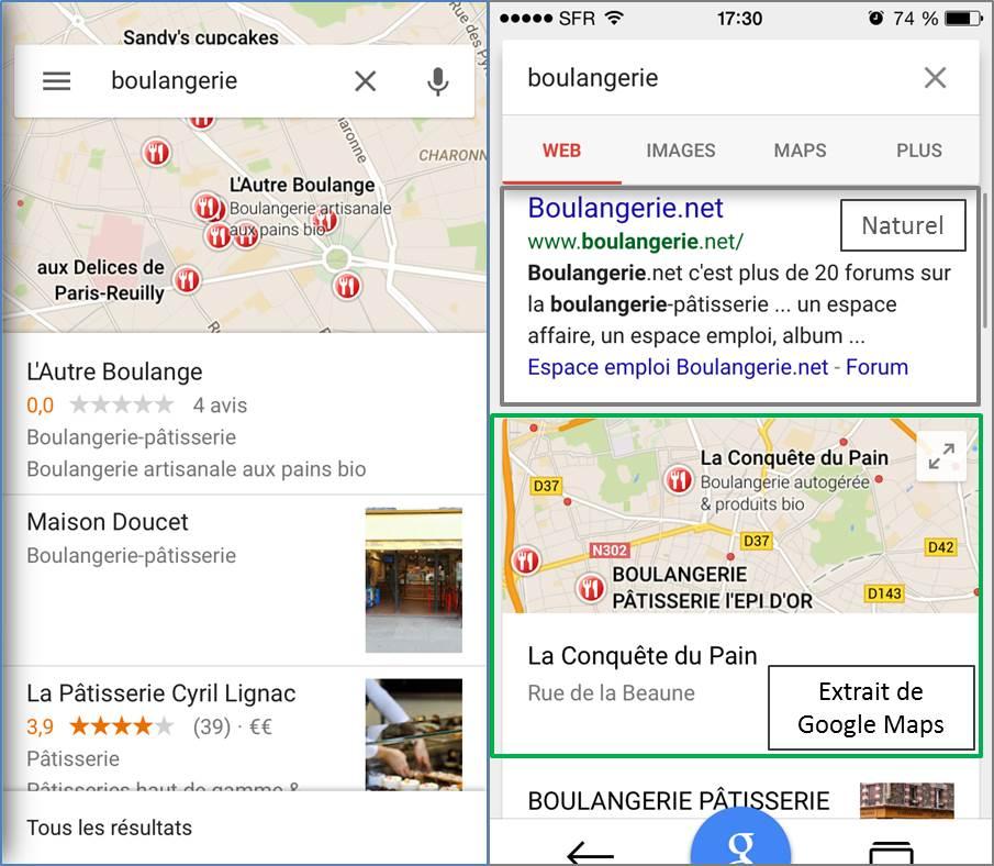 Google-Maps-mobile-application