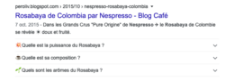 Exemple de Rich Snippets de FAQ