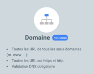 Search console domaine